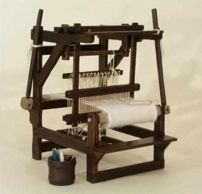 1/12th Scale Weaving Loom