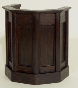 1/12th Scale Oak Catheral Pulpit