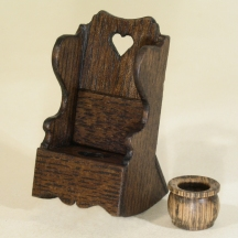 1/12th Scale Rocking Potty Chair