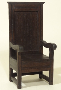 1/12th Scale Tall back Chair
