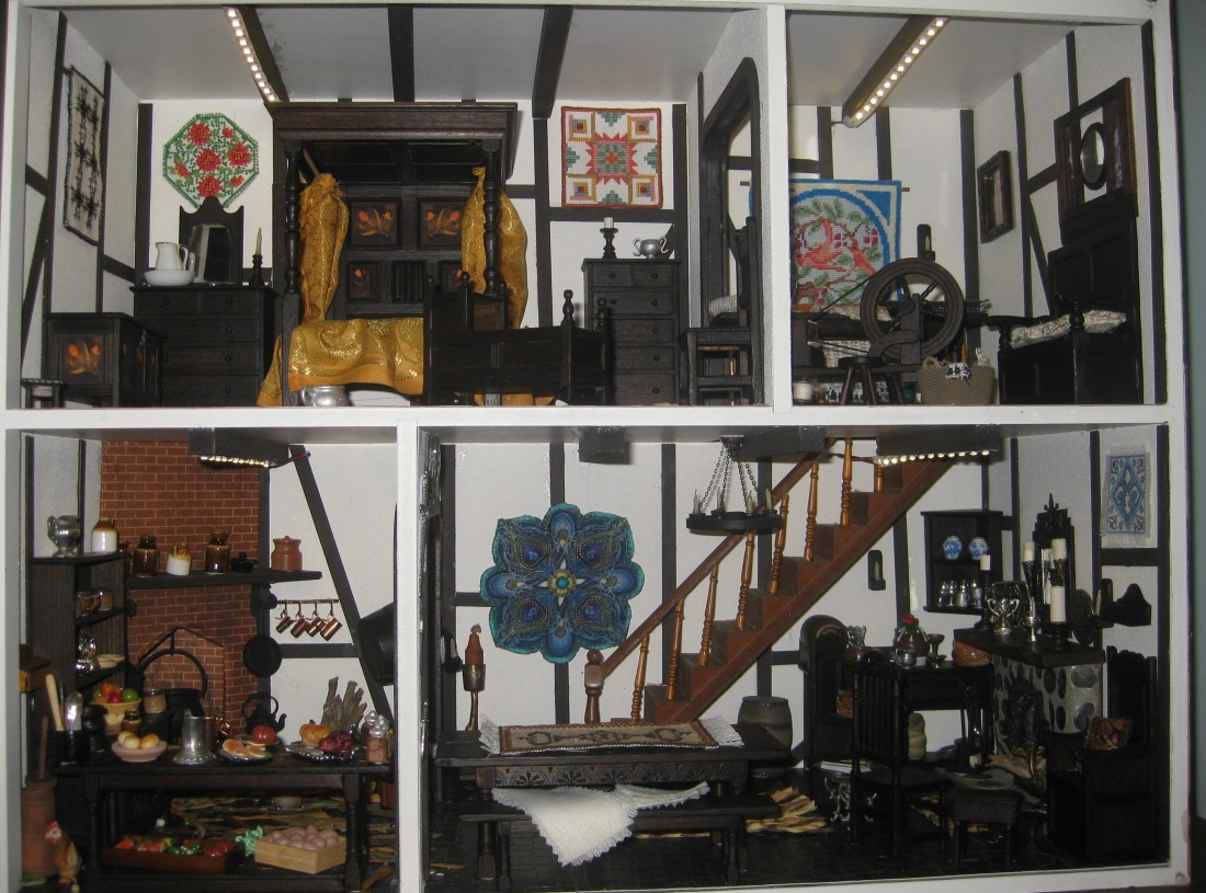 Ashwood Designs Dolls House Picture Gallery - Dolls house interior
